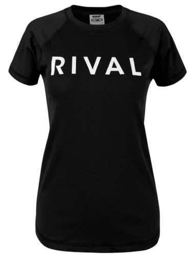 Rival essential Crew Neck Rashie Black