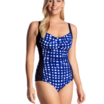 Funkita Form Ruched One Piece Checkin In