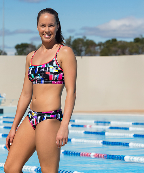 test-signal Funkita Crop Top Styled