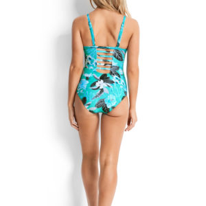 Seafolly Tropical Vacay DD Cup Maillot back