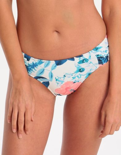 Seafolly Tropical Vacay Ruched Side Retro Pant