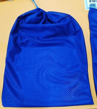 Fruit and vegetable bag with drawstring